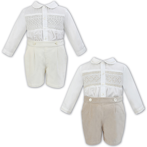 Sarah Louise Boys Christening Suit 011253