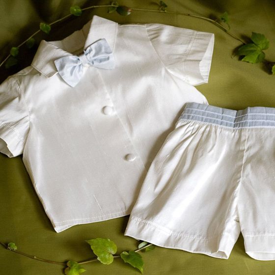 Angels and Fishes Boys Shorts set - Gabriel