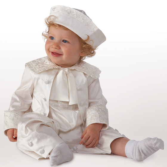 Little Darlings Christening Suit A1772