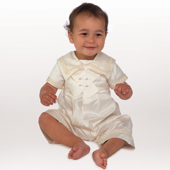 Little Darlings Christening Suit A204