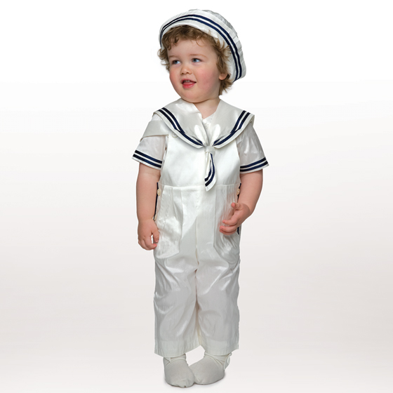 Little Darlings Christening Suit A2784