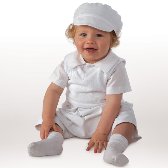 Little Darlings Christening Suit A3073
