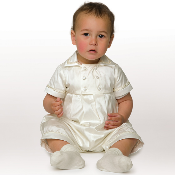Little Darlings Christening Suit A3131