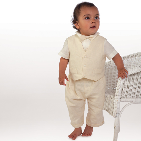 Little Darlings Christening Suit A4239