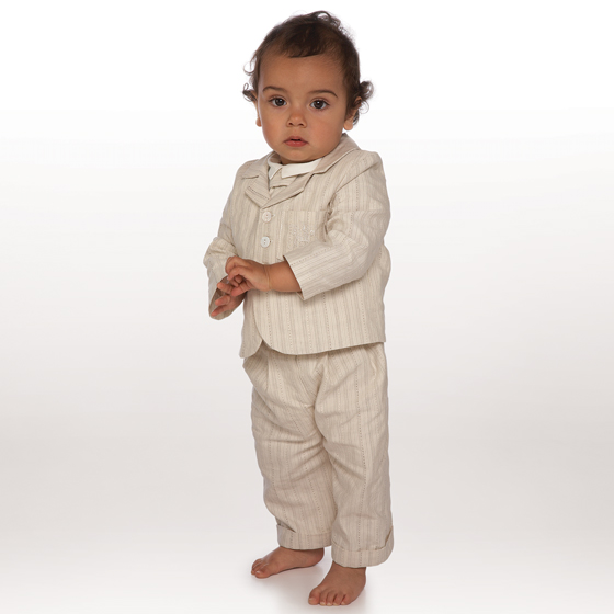 Little Darlings Christening Suit TS6143