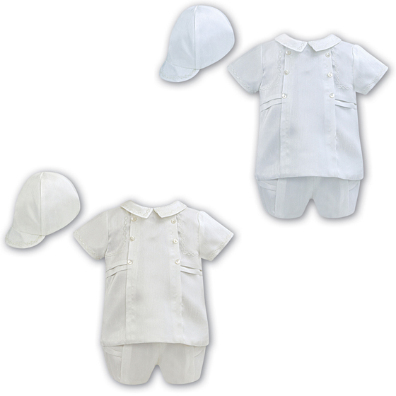 Sarah Louise Boys Christening Suit 2225