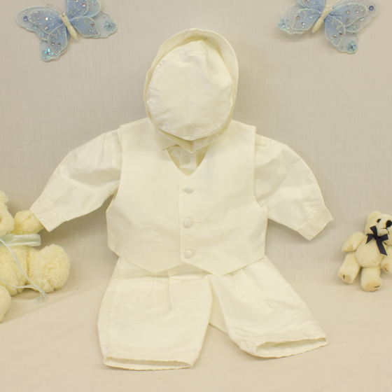 Boys Christening 3 Piece Set