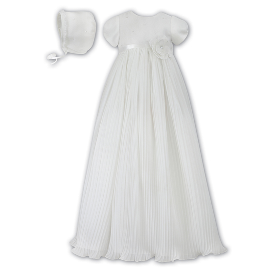 Sarah Louise Christening Gown and Bonnet 1036