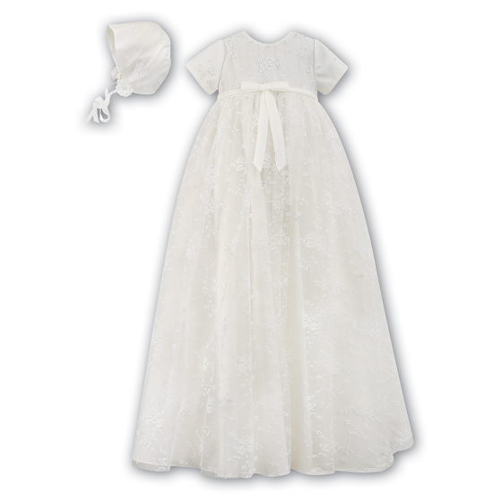Sarah Louise Christening Gown and Bonnet - 1094