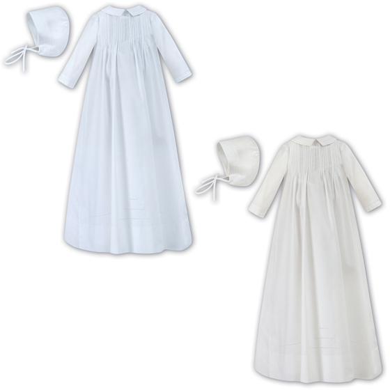 Sarah Louise Christening Gown & Cap - 1175