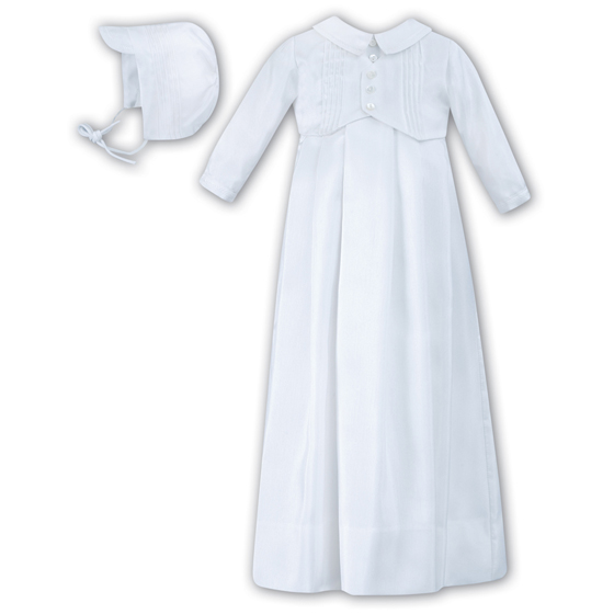 Sarah Louise Christening Gown & Hat - 1176