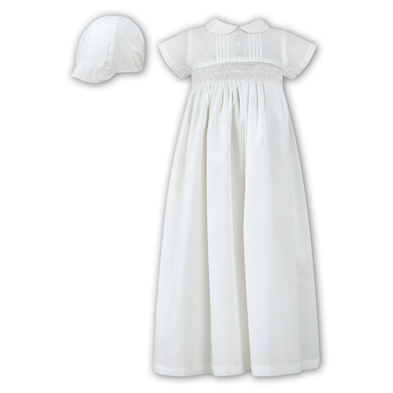 Sarah Louise Christening Gown & Bonnet - 1078