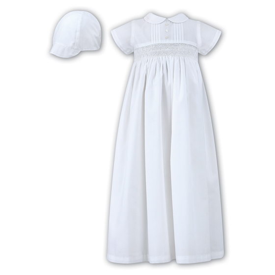 Sarah Louise Christening Gown & Bonnet - 1178