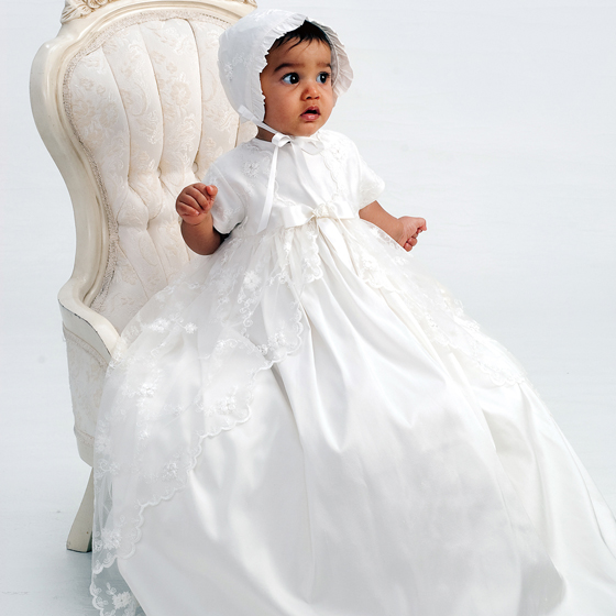 Sarah Louise Christening Gown - 133SN