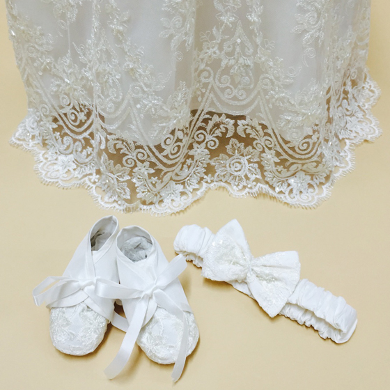 Christening Gown - Delicate Elegance 4248