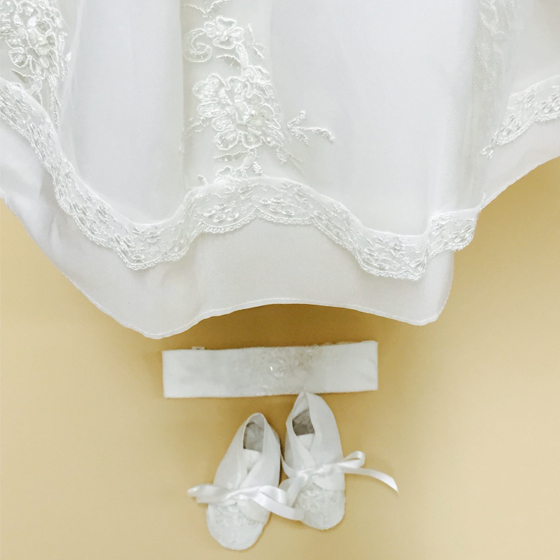 Delicate Elegance Christening Dress - 4254SP
