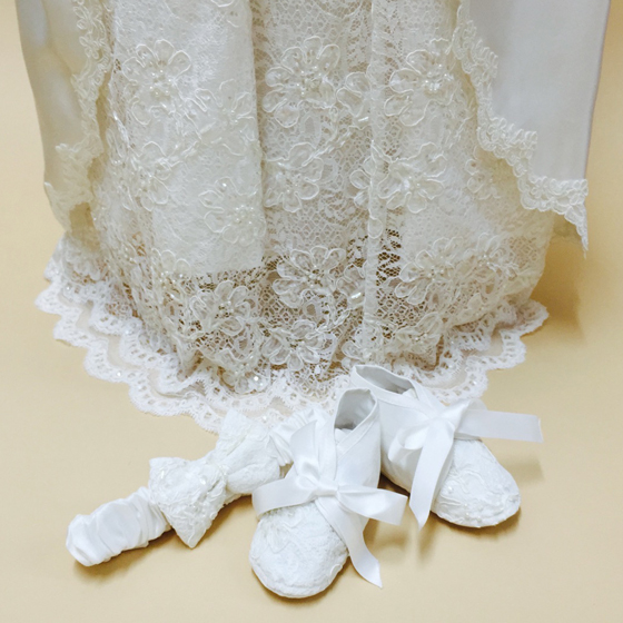 Christening Gown - Delicate Elegance 4261
