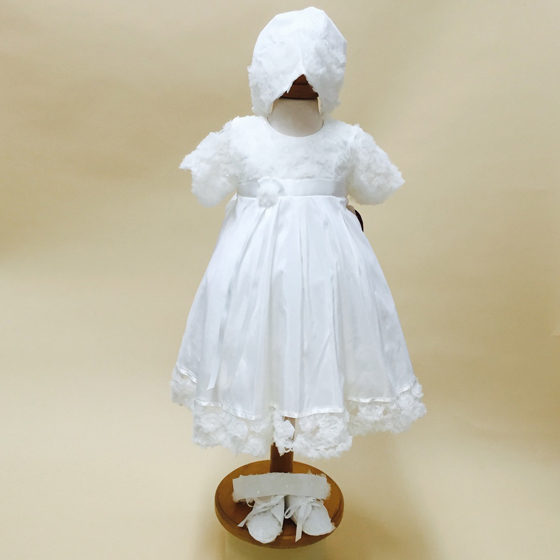 Delicate Elegance Christening Dress - 4275