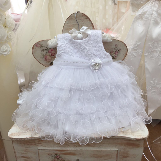 CT123038 Coute Tot Christening Dress