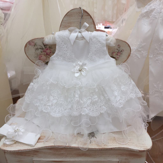 CT123073 Coute Tot Christening Dress