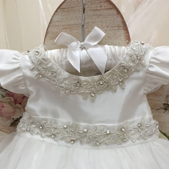CT1322 Coute Tot Christening Dress