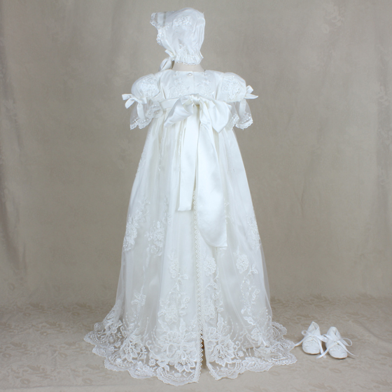 Christening Gown - Delicate Elegance 4236