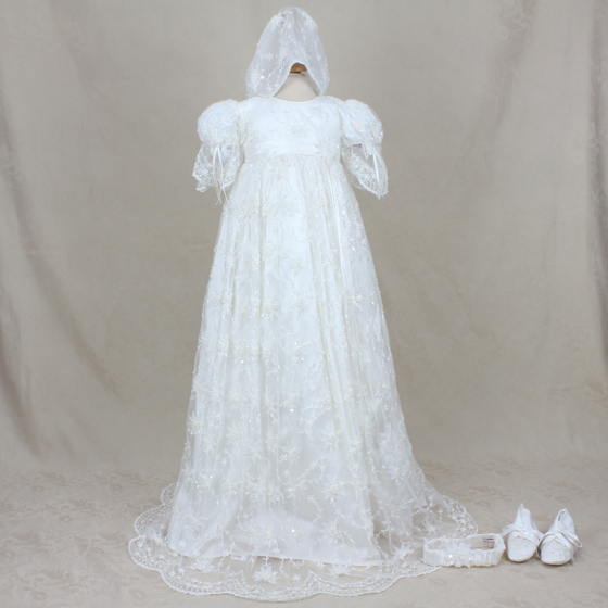 Christening Gown - Delicate Elegance 4245
