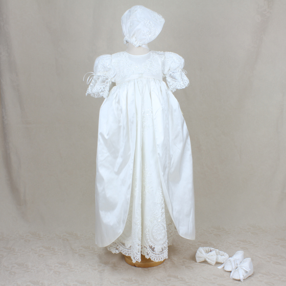 Christening Gown - Delicate Elegance 4256