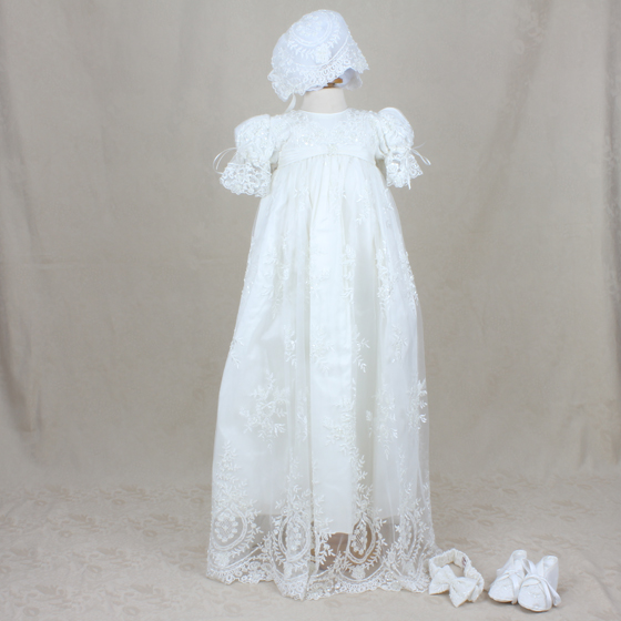 Christening Gown - Delicate Elegance 4257
