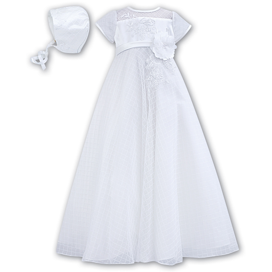 Sarah Louise Christening Gown and Bonnet 1040