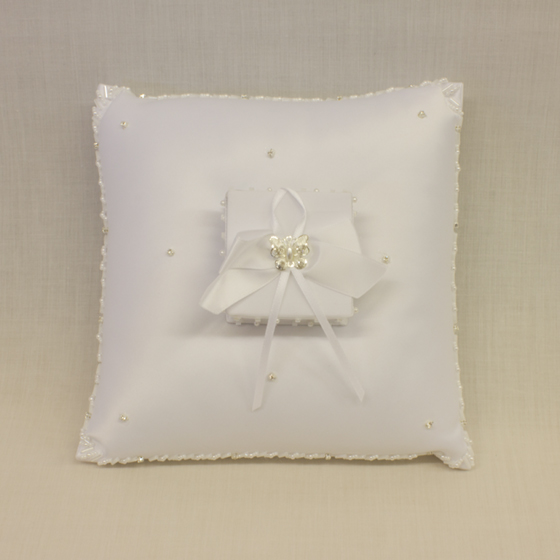 Wedding Ring Cushion