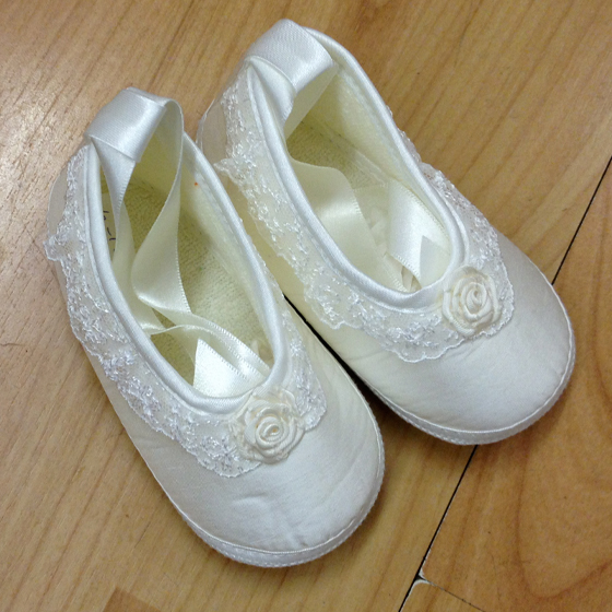 Girls Christening Shoes